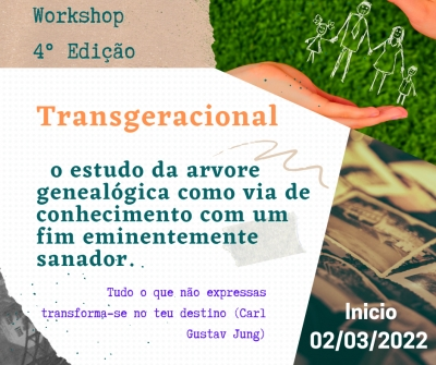 workshop Transgeracional a árvore genealógica